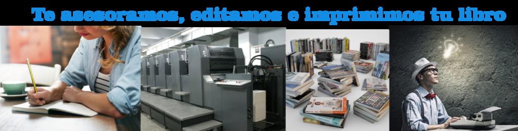 Sevicios de edición e impresión de libros