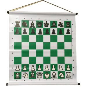 Tablero mural de ajedrez